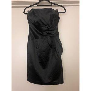 Max & Cleo Black Strapless Dress